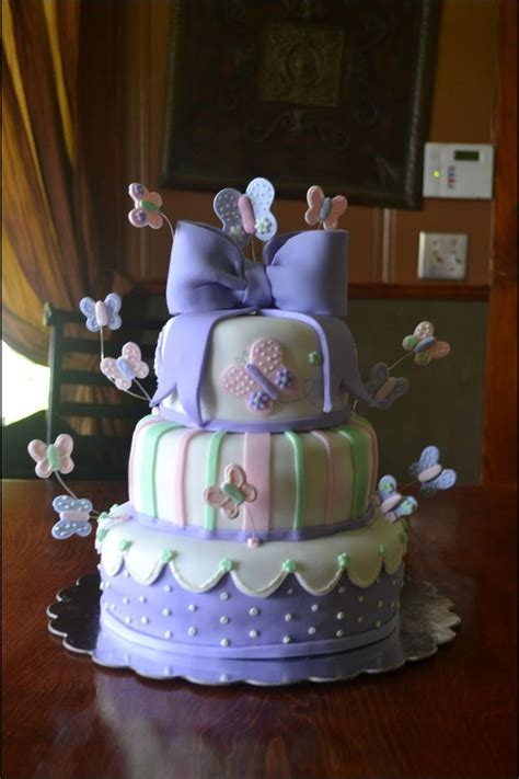 Purple Butterfly Baby Shower Cake by 17 Best Ideas About Butterfly Baby Shower On