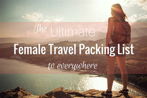 What Should You Pack For The Ultimate Summer Getaway by Ultimate Travel Packing Lists To Everywhere