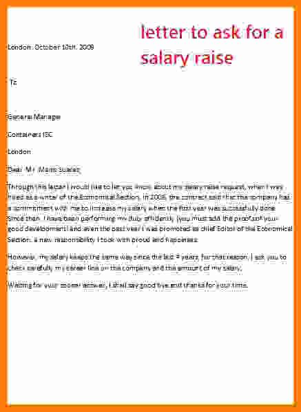 salary increase letter employer technician salary slip