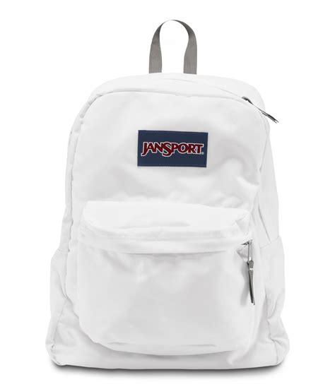 All Jansport all white jansport backpack click backpacks