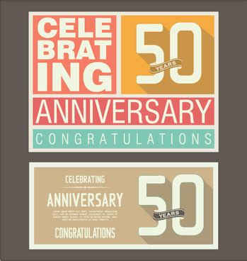 Wedding Anniversary Cards Vector Free by Vector Wedding Anniversary Card Free Vector