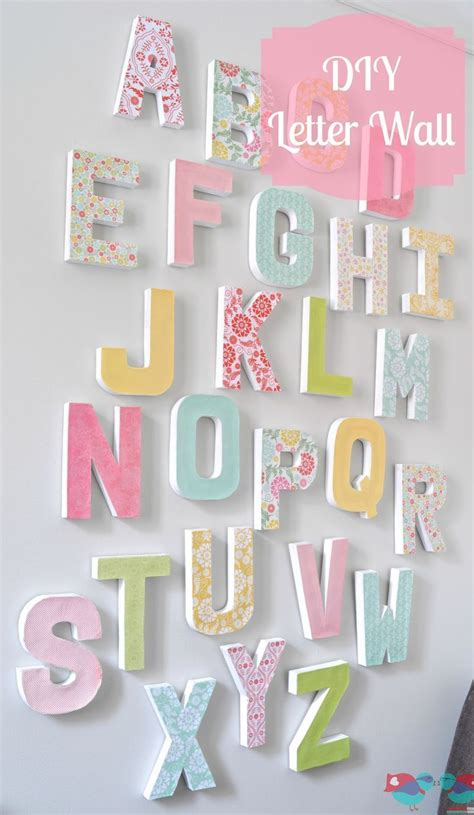 make your own artwork for home decor how to make your own letter wall inexpensive home decor