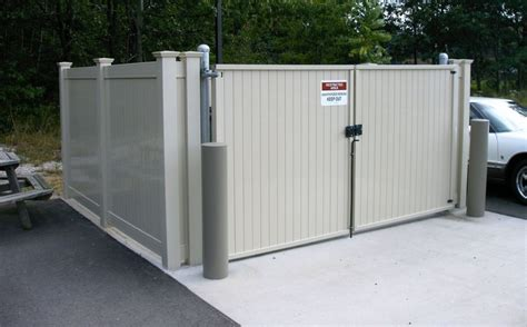 Dumpster Enclosure | dumpster enclosures fence consultants of west michigan