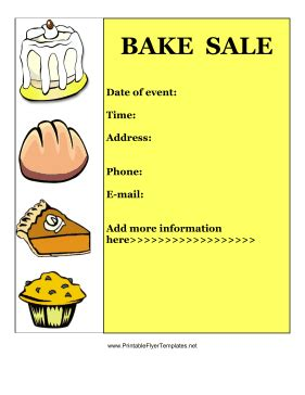 free bake sale flyer templates free printable bake sale flyer template car interior design