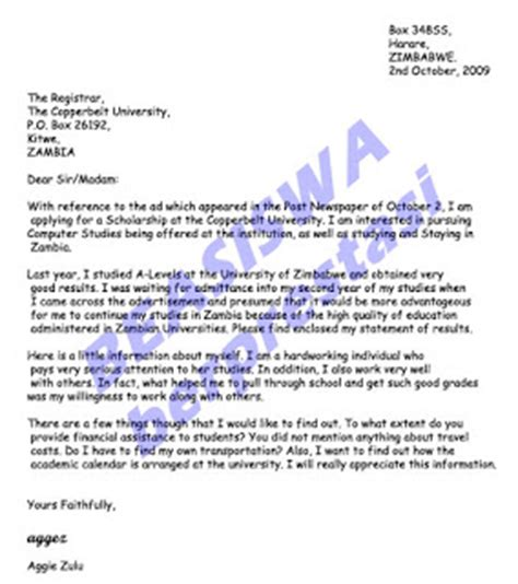 contoh surat permohonan beasiswa terbaru lengkap