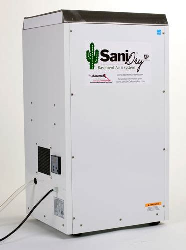 the sanidry xp basement dehumidifier