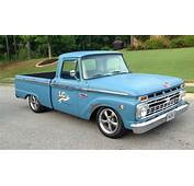 Great Looking 1966 F100 Patina Flat Paint