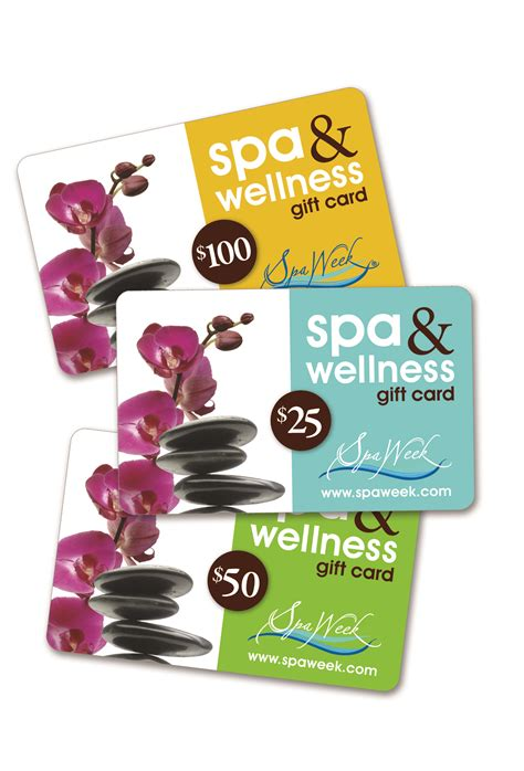 Wellness Gift Card - massage magazine readers receive special holiday discount on spa wellness gift cards