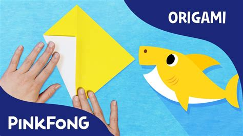 baby shark kids baby shark animal song with origami pinkfong origami