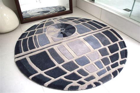 star wars bathroom rug death star rug the ultimate power in the universe is