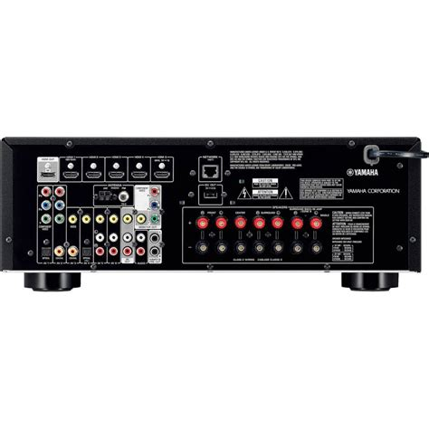 yamaha rx v575 7 2 channel home theater receiver with