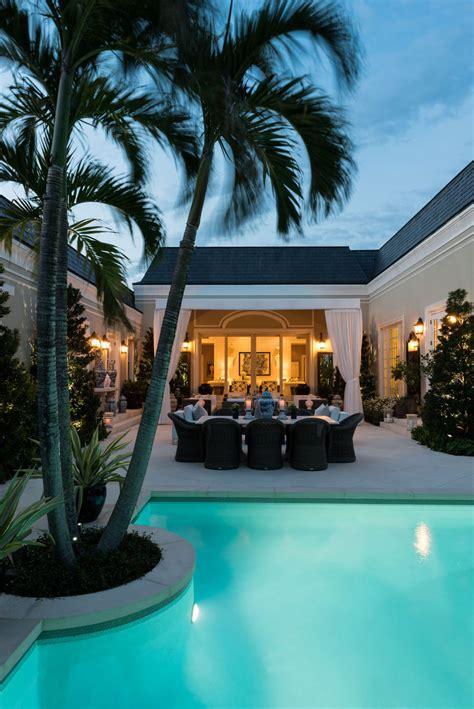 elegant regency style palm beach villa combines classic  contemporary idesignarch