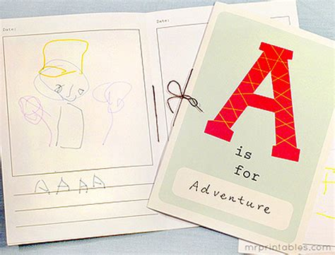 free printable alphabet letter books printable alphabet book mr printables
