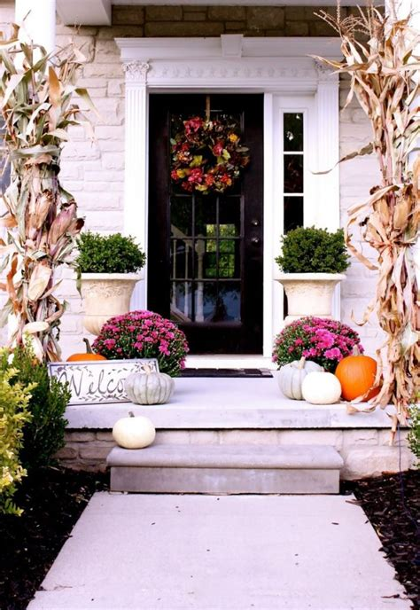 front porch fall decor fall front porch decorating ideas satori design for living