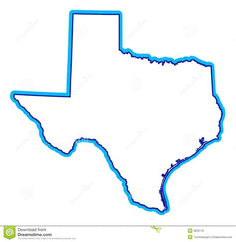 texas map drawing drawing of state of texas royalty free stock photos image 3839178