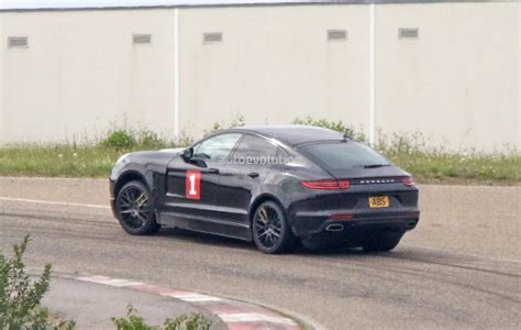 lifted porsche porsche cayenne coupe makes spyshot debut as