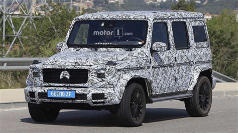 g class 2018 2018 mercedes g class spied looking a lot like its 1979