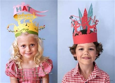 How To Make Cool Paper Hats - creative paper hats for and at