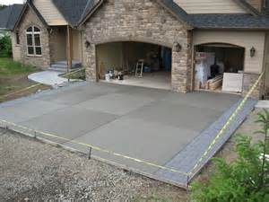 best 25 concrete driveways ideas on sted