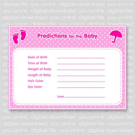 Promo Us Baby Baby Wipes Isi 80 Lembar Sale footprints baby shower baby predictions card blue