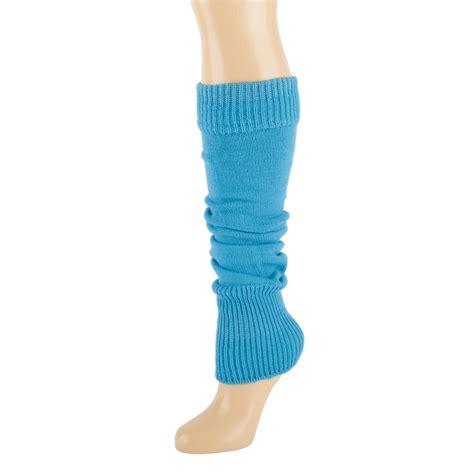 knit warmers plain knitted leg warmers ebay