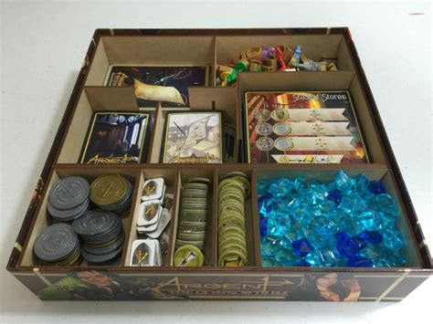Argent The Consortium Board buy go7 gaming argent 001 insert for argent boardgamebliss inc canada s board store