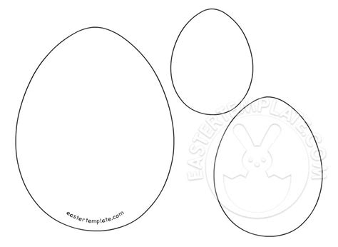 easter templates easter eggs template archivi easter template