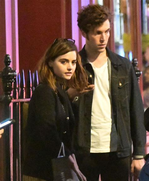 tom hughes jenna jenna coleman and tom hughes fuel romance rumours on cosy