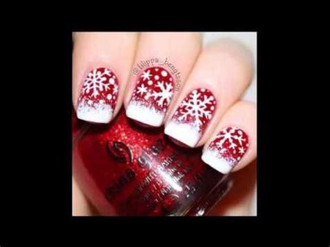 imagenes unas decoradas navidad u 241 as decoradas de navidad christmas nails gali craft