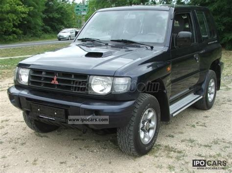 old car repair manuals 2004 mitsubishi pajero spare parts catalogs 2004 mitsubishi pajero 2 5 td classic car photo and specs