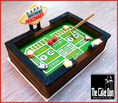 craps table cake casino party ideas pinterest  ojays cakes  tables