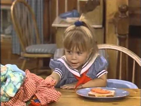 full house making out is hard to do full house cute funny michelle clips from season 3 part 1 youtube
