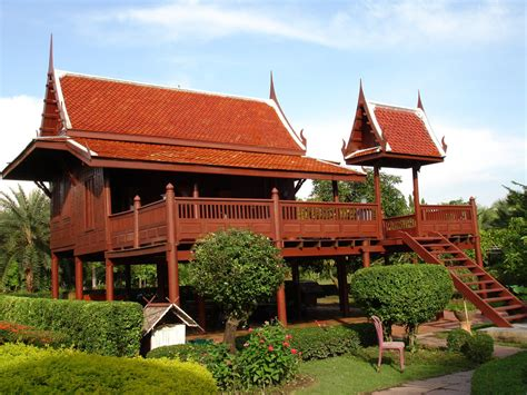 thailand home design traditional thai style home plans