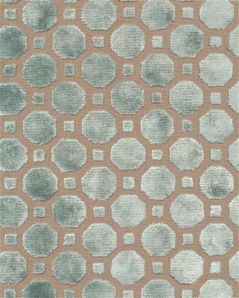 Duck Egg Upholstery Fabric by Velvet Geo Upholstery Fabric In Duck Egg Upholstery