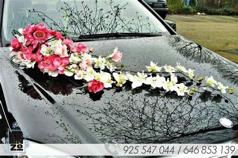 decoracion coche boda decoracion de coches para bodas y eventos vikenzo nature