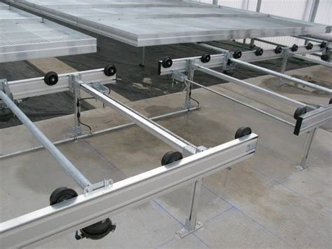 benches greenhouse linx greenhouse systems palletized rolling benches