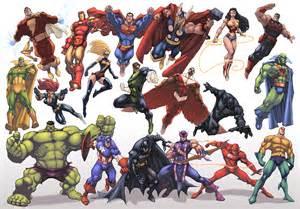jla avengers color by logicfun on deviantart