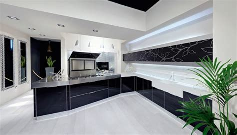 White And Black Kitchen Designs 30 Black And White Kitchen Design Ideas Digsdigs