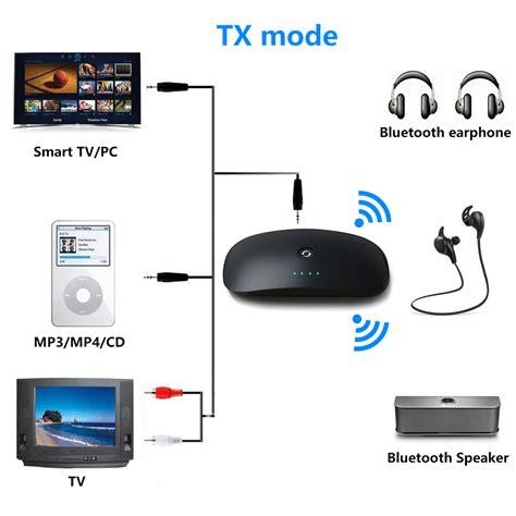 Wireless Bluetooth Transmitter Receiver A2dp Audio Adapter 3 5mm B6 2in1 wireless bluetooth transmitter and receiver a2dp 3