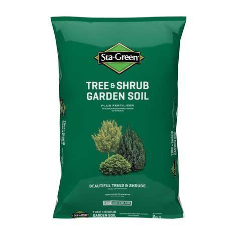 Sta Green Garden Soil shop sta green 2 cu ft tree and shrub garden soil at lowes