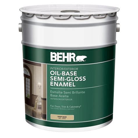 best exterior based paint behr 5 gal base semi gloss based interior