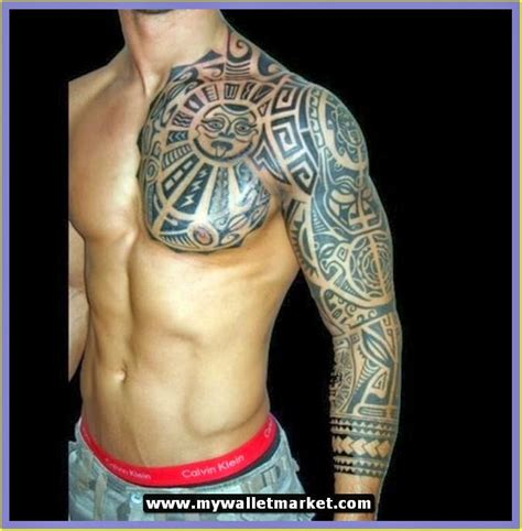 chest arm tattoos for men awesome tattoos designs ideas for and 3d