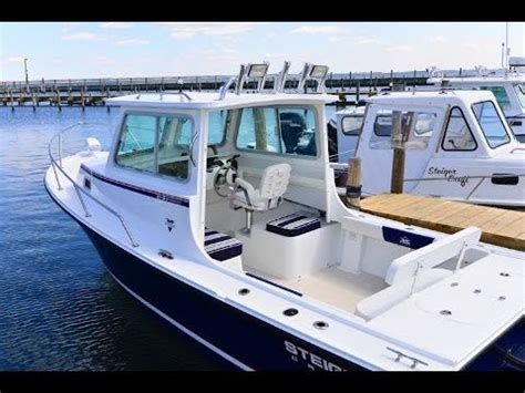 boat pilot house steiger craft boats 21 dv miami pilot house outboard bracket youtube