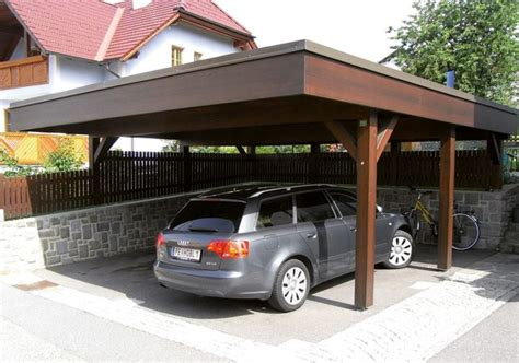costruire tettoia legno auto tettoia in legno fai da te arredamento giardino