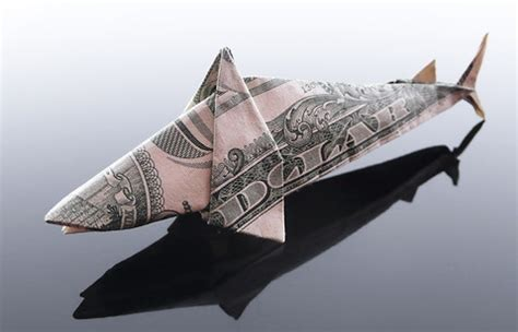Dollar Origami Shark - won park s origami money shark paper folding