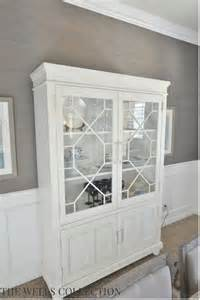 White China Cabinet With Glass Doors Classic White China Cabinet Jpg 585 215 876 Pixels Crafts