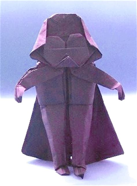 Origami Darth Vader - origami wars page 1 of 2 gilad s origami page