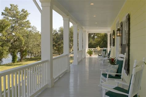Good looking Porch Railing Ideas with Plantation Recessed