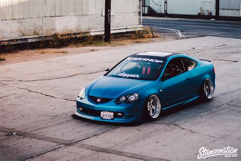 acura stance jarald yutadco s bagged honda rsx j d m mania