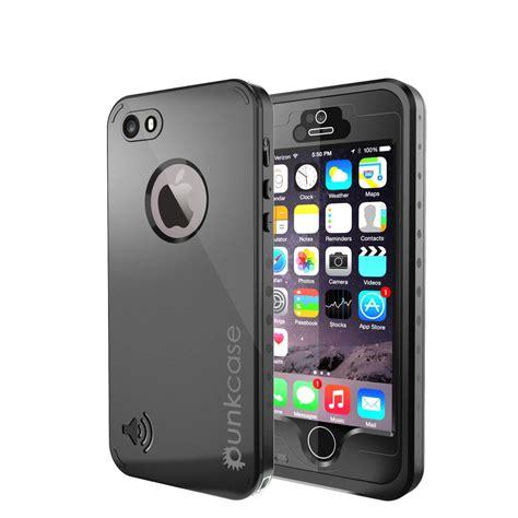 punkcase studstar black apple iphone  waterproof case